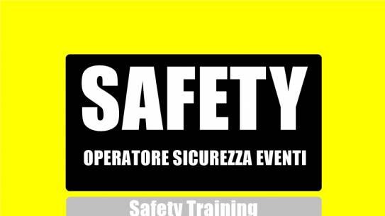 """Corso """"SAFETY"""" per operatori di sicurezza in occasione di manifestazioni pubbliche"""